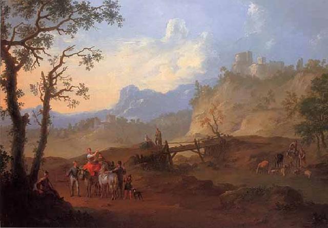 Landschaftsmalerei barock  basis wien - Die barocke Landschaft. Landschaftsmalerei des 18 ...